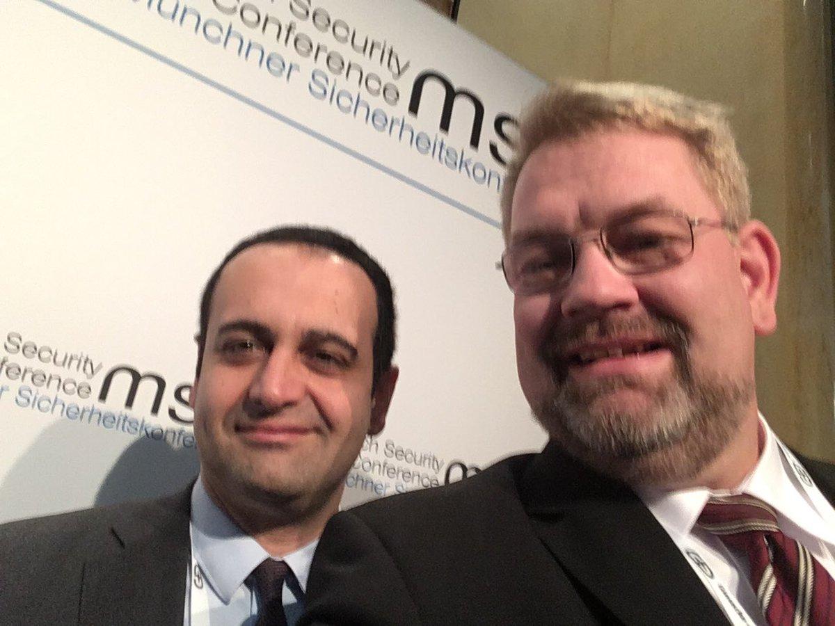 Gute/Kompetente Diskussionspartner bei der #MSC2020pic.twitter.com/Oof7pGUBH1