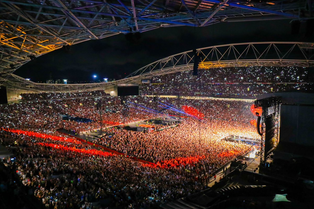 THANK YOU AUSTRALIA!!!! 75,000+ fans were part of a concert for the ages tonight at #ANZStadium! $8.8 million raised in ticket sales & donations, with more to come. Relief for families. Recovery & Rebuild for communities. Rehabilitation for our wildlife 🧡 #FireFightAustralia