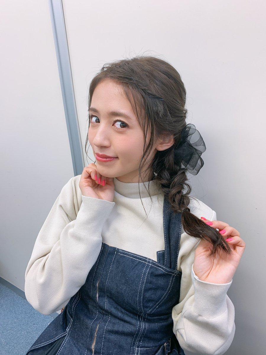 今日は珍しい髪型に✂︎好評で嬉しかった(*'▽'*)