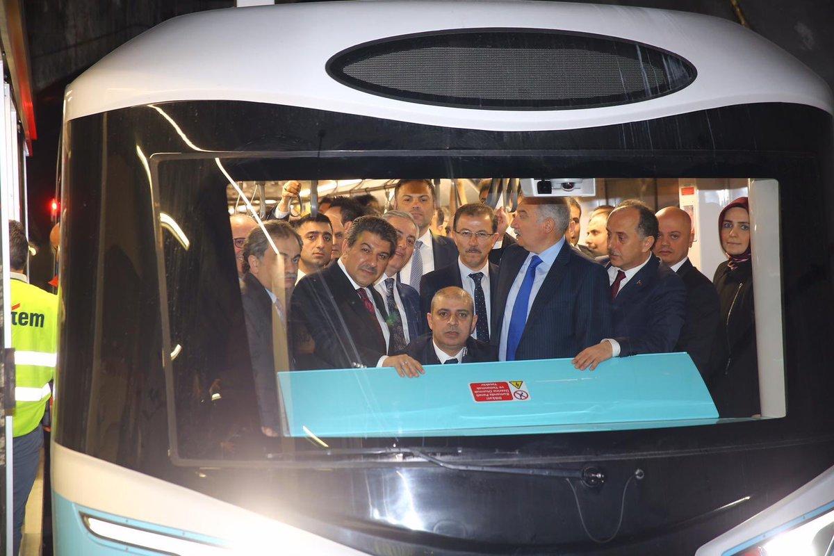 """Mehmet Tevfik GÖKSU on Twitter: """"Yaklaşık 1 yıl önce, 19 Mart 2019'da, benim de bizzat katılarak başlattığımız Mecidiyeköy-Esenler-Mahmutbey metro hattı 2019'un son çeyreğinde açılacaktı. Bugüne kadar hala bu hattın test sürüşlerinin değil,"""
