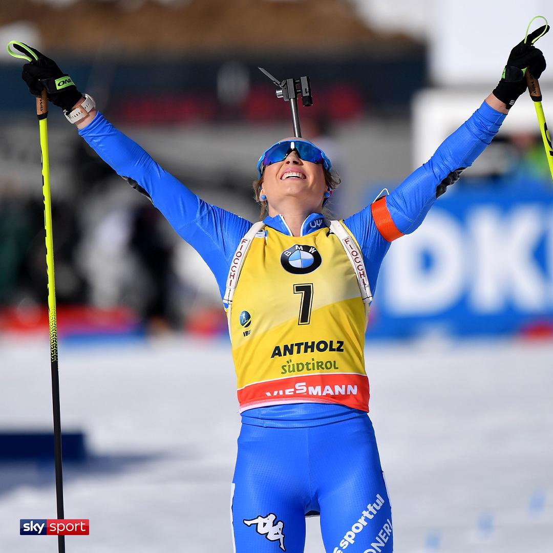 ⚠ ULTIM'ORA BIATHLON ⚠ Mondiali, oro di Dorothea Wierer nell'inseguimento Per l'azzurra è il secondo oro mondiale in carriera #SkySport #Biathlon #Wierer