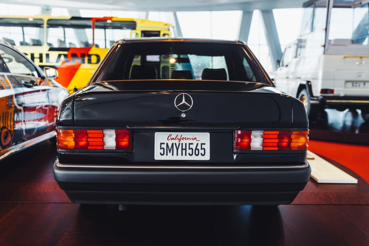 This 1992 Mercedes-Benz 190 E 2.3 testifies the stylish confidence of his first owner: The actor and film producer Nicolas Cage. Visit @MB_Museum in Stuttgart to learn more http://mb4.me/visit_us  #MBmuseum #MBclassic