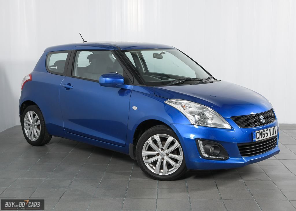 #CarOfTheDay | Suzuki Swift (2015) - Finance From £132.19 p/m   32887 miles  1.2 L  Petrol  Manual  Owners: 2   Finance Options: http://ow.ly/FD8D50ynC4Y  #Suzuki #Swift #Blue #Hatchback #CarFinance #Sunday #Cardiff #UsedCar #QualityCar #Manual #ForSalepic.twitter.com/hPXluyppM3