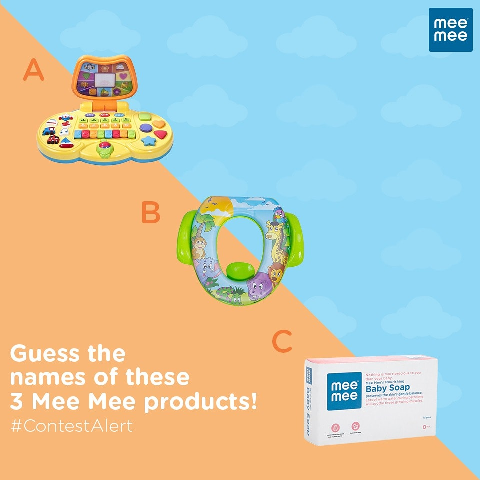 #ContestAlertGuess the names of these 3 Mee Mee products and stand a chance to win exciting goodies from Mee Mee. Start answering below. #MeeMeeIndia #MeeMeeProducts