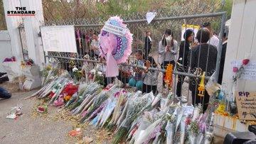 ประชาชนประกอบพิธีบำเพ็ญกุศล อุทิศให้แก่ผู้เสียชีวิตโคราช ณ วัดป่าศรัทธารวม  #PrayForKorat  #SaveKorat #กราดยิงโคราช  ภาพ #TheStandardCo https://t.co/3Pm2o9cNHd
