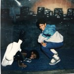 Image for the Tweet beginning: HipHop circa 86, me and