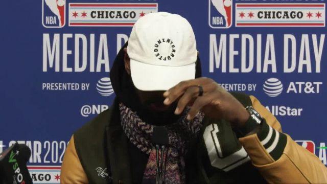 All-Star Game - LeBron James : « Le fait de pouvoir honorer Kobe Bryant, cest un moment magnifique » ow.ly/lOvH30qi619