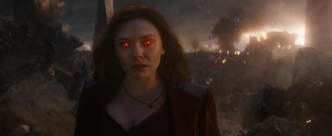 Happy birthday to Elizabeth Olsen, the most powerful avenger.