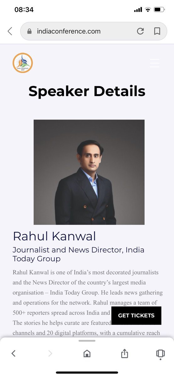Will be speaking this AM on the State of the Indian Media at the @HarvardHBS @indiaconf2020 Looking forwarding to an engaging conversation with @McKinsey global lead of Private Equity and Investor Practice Vivek Pandit. Loved the audience's energy during the sessions yesterday.