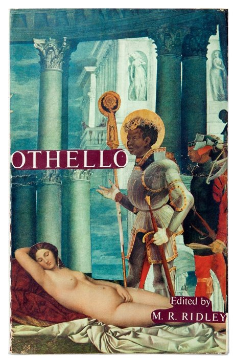 Joe Orton and Kenneth Halliwell defaced library book cover 1959-62. #LGBTHM20 #IslingtonsPride