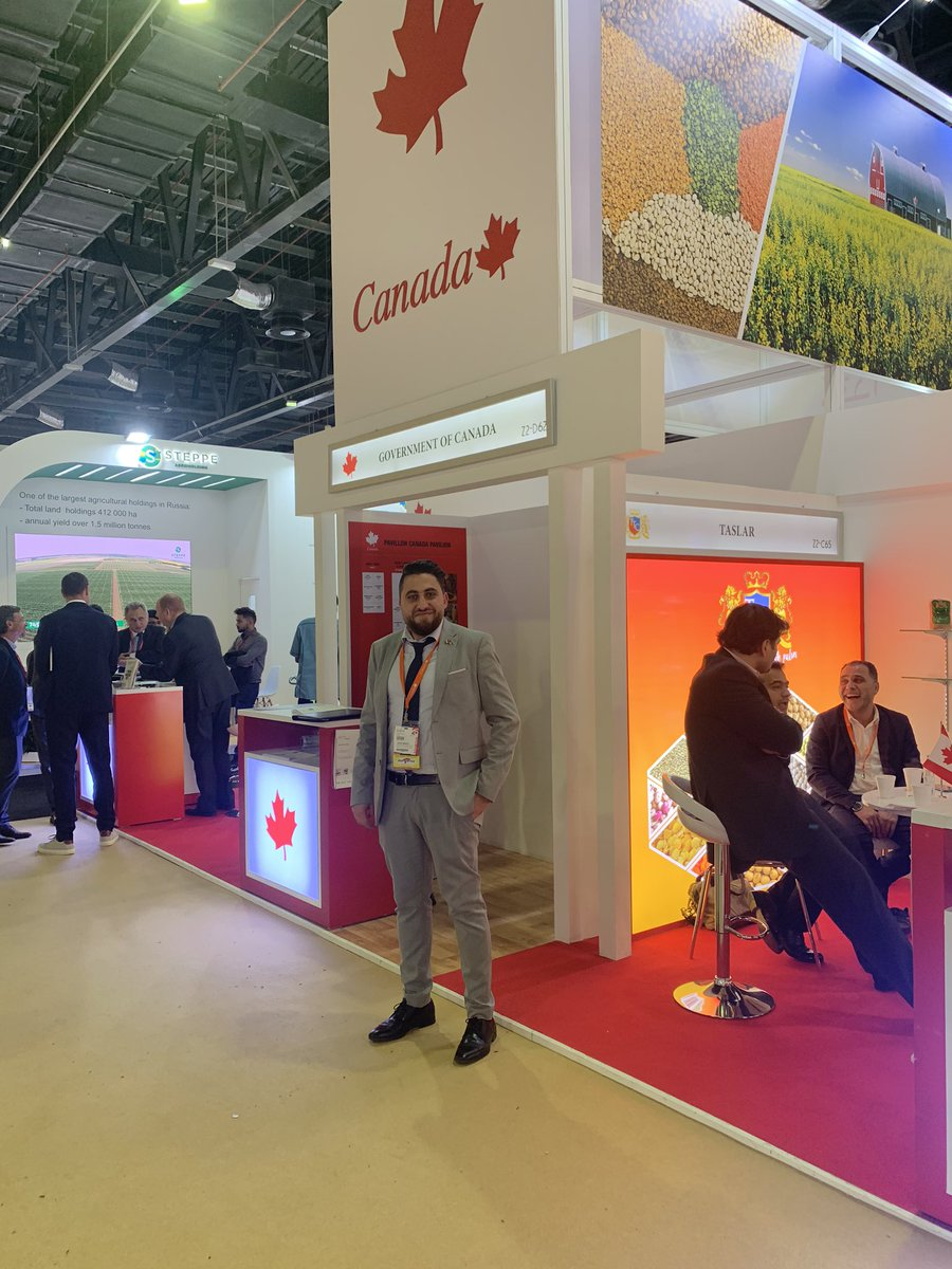 Looking forward to meeting you this week @AAFC _Canada booth at #Gulfood2020 Dubai Trade Center to see our agri-food and meat #exports - Za'abeel Hall 2 booth Z2-62