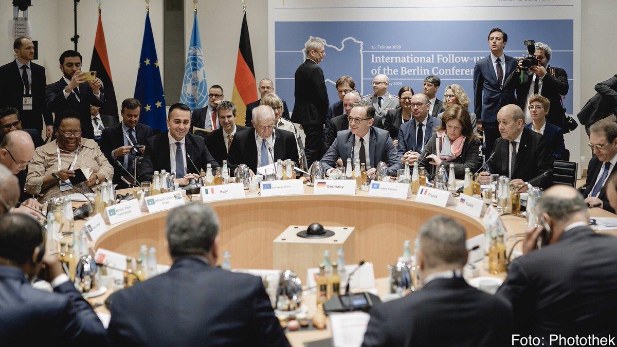 Mit dem heutigen Außenministertreffen in München haben wir den Nachfolgeprozess für die Berliner #Libyenkonferenz gestartet. Der Druck auf die Konfliktparteien wirkt und muss jetzt weiter aufrechterhalten werden.
