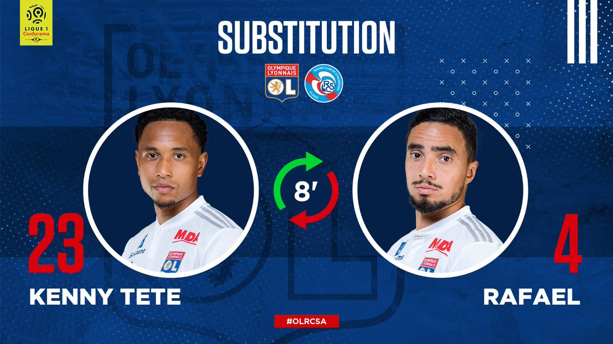 8' An enforced early change for #TeamOL due to injury - get well soon, @ORafa2!   #OLRCSA 0-0