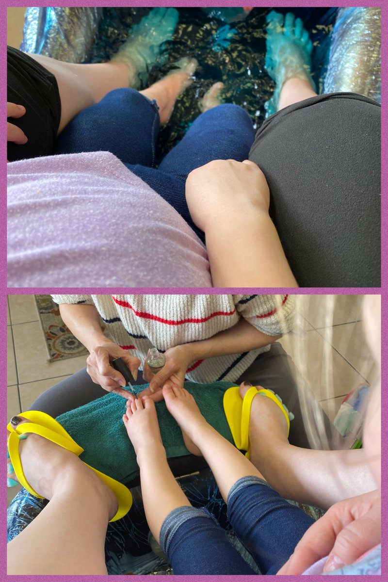 I took the Tinks to get her second pedicure yesterday. She loved it! #locklynaria #tinks #toddler #girltime #purpletoes #pedicure #momlife #shealwayscomesfirst #love #fun #happy #girlmom #adventures #nailspic.twitter.com/RASnAL6WMW