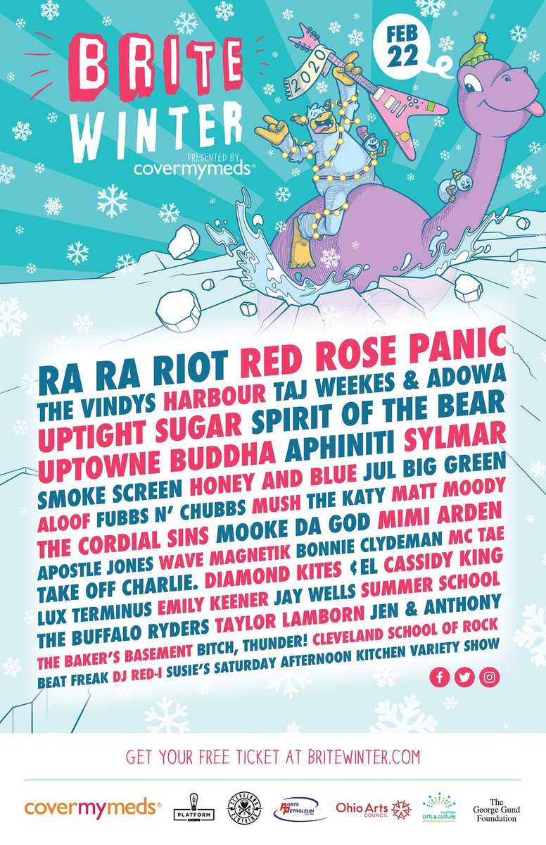 check us out @redrosepanic / fully realized, in full effect headlining @Britewinter #Brite2020