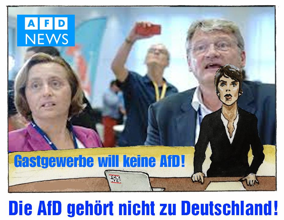 """Die AfD ist ein Auffangbecken für Leute, die der """"Werte-Union"""" peinlich sind! Ceterum censeo #AfD esse delendam. Die #AfD gehört nicht zu Deutschland!pic.twitter.com/H6MVid7e4K"""