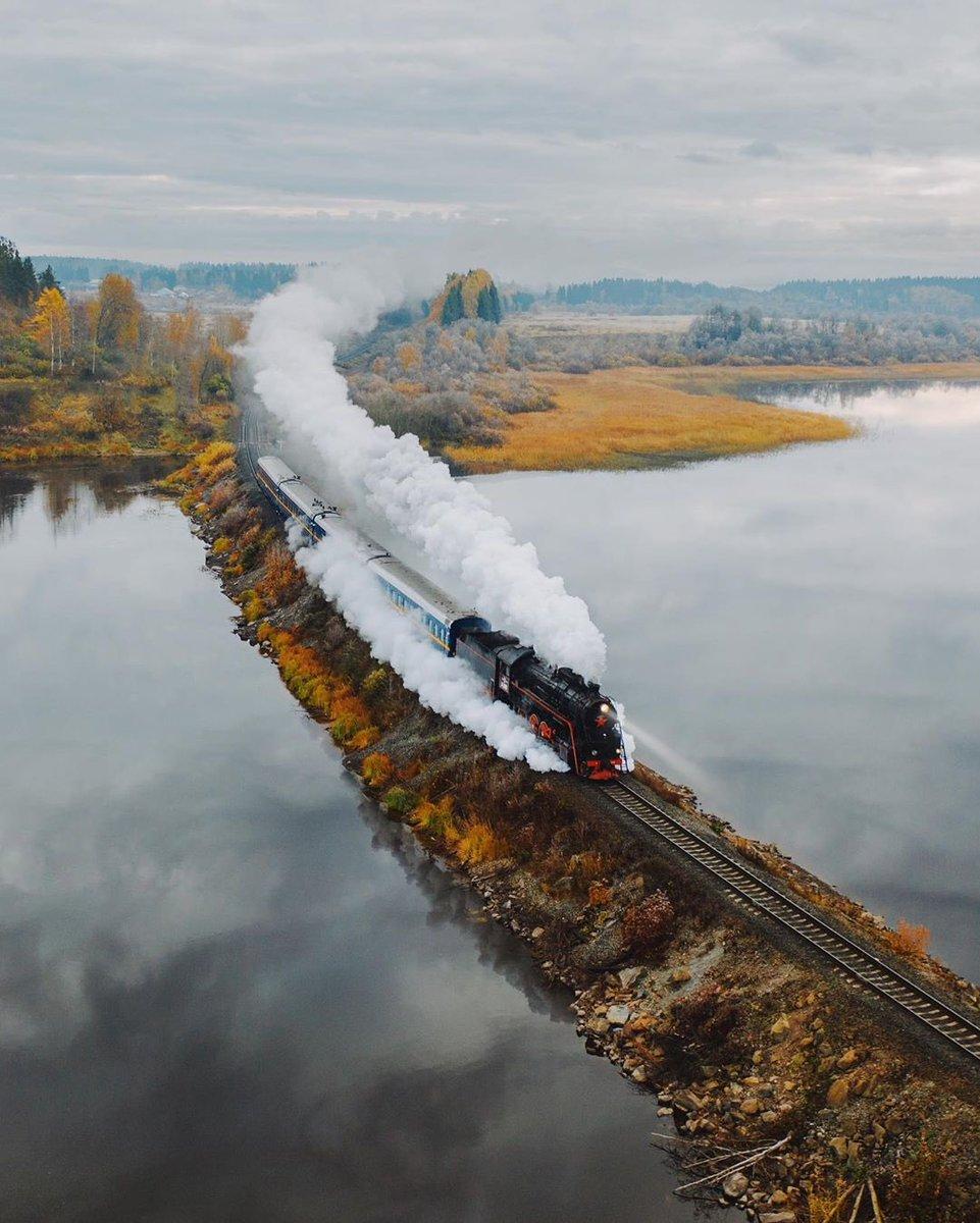 #HelloFrom the Ruskeala Express 🚂🏔✨ https://www.instagram.com/p/B8o367kgObt/