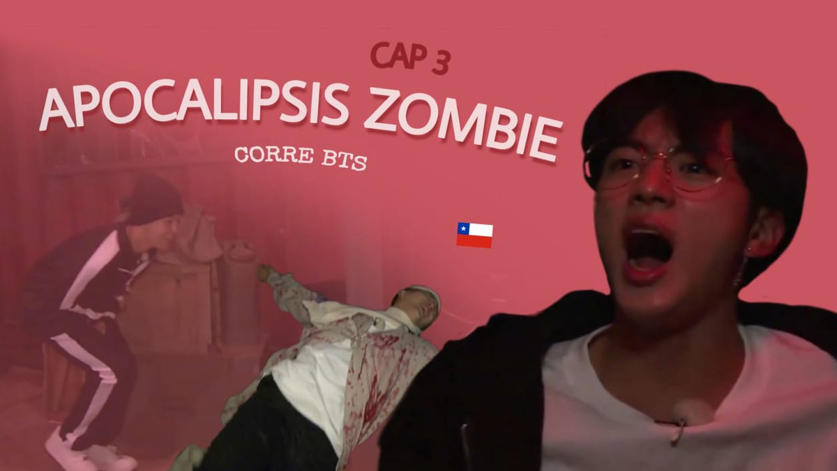 CORRE BTS | CAP 3: APOCALIPSIS ZOMBIE   Nos costó pero se logró, espero les guste muack  https://youtu.be/BMvFWZJIzxc pic.twitter.com/TYFd6fn9g9