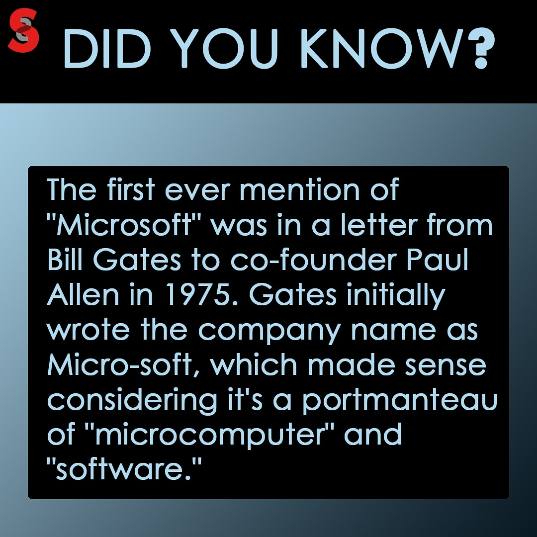 Just another tech story! Did you know it? #MondayFacts #funfacts #TechFacts pic.twitter.com/47bgRLZiou