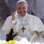 Image for the Tweet beginning: # POPE FRANCIS # I