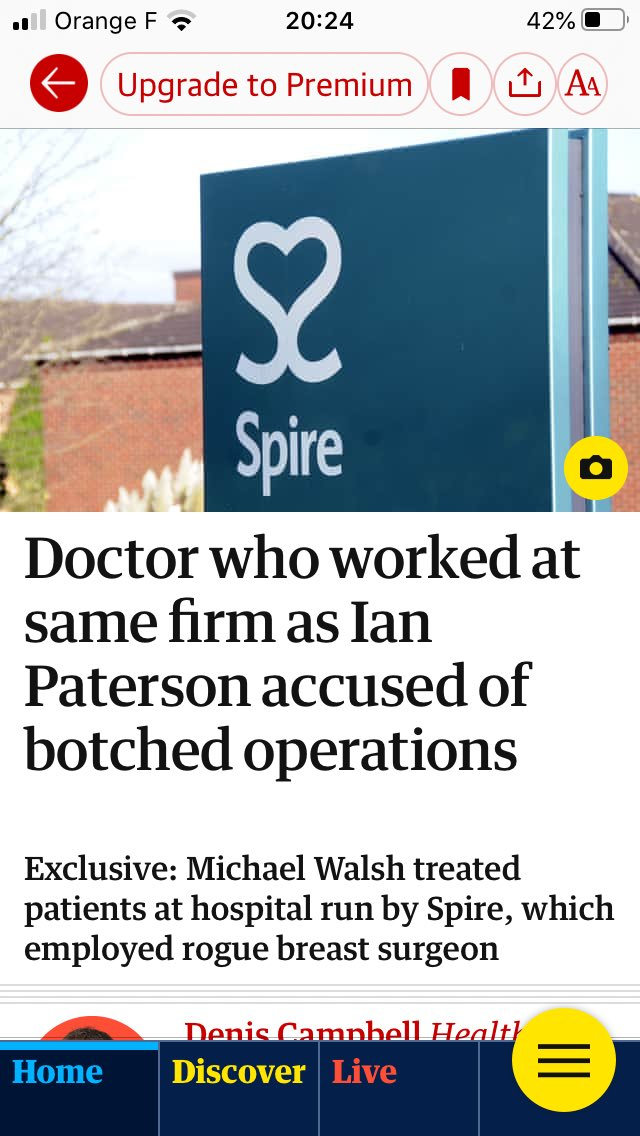Private health: putting profit before health on a daily basis.