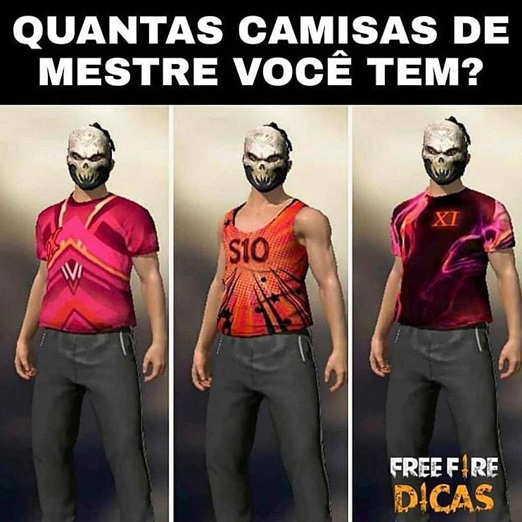 QUANTOS VOCÊS TEM . . . . . . . . . . . . . .  Tags (ignorem): #freefirebrasil #freefirememes #garenafreefire #garenafreefirebrasil #garenabrasil #jogos #mobile #loud #loudgg #squad #freefirememes #games #game #piuzinho #elgato #crusherfooxi #crusherfooxi10 #freefiremestrepic.twitter.com/mhHOkFYGC4