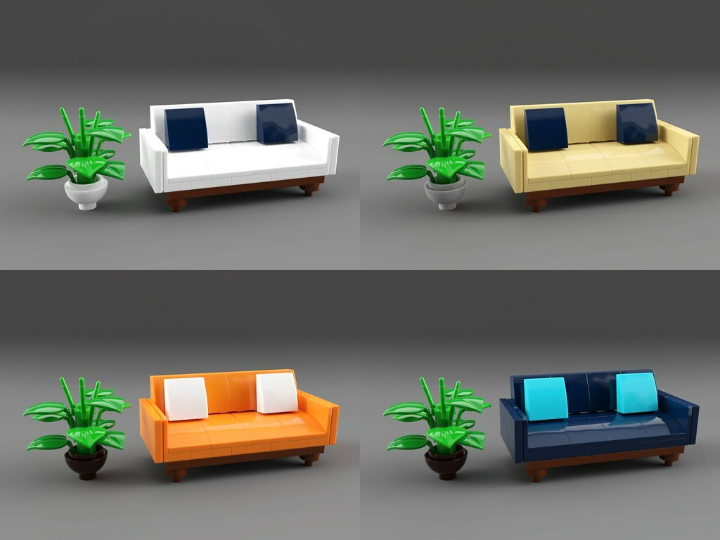 Moc Builder On Twitter Couch By