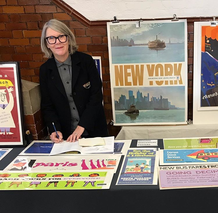 Today: Visit Travel On Paper at the So Last Century vintage and retro fair for mid-century posters. More information at http://www.solastcenturyfair.co.uk/next-events/catford-february-2020… and http://www.travelonpaper.com    [Visit also https://ivpda.com/events-and-exhibitions.html… for more #VintagePoster events and exhibitions.] pic.twitter.com/y6KfD49tIG