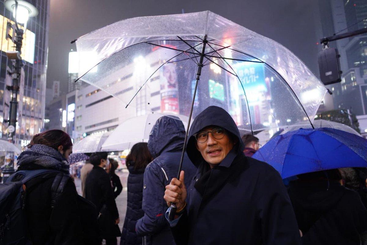 Minggu malam berjalan-jalan di kawasan Shibuya, Tokyo. Dingin banget! Mana ujyan, ga ada ojyek, becyek... 🌧☔️