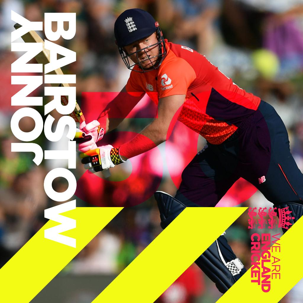 FIFTY for @JBairstow21 👏  Follow: http://ms.spr.ly/6019TwQwF  #SAvENG