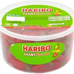Image for the Tweet beginning: HARIBO Giant Strawberry Bulk Sweets