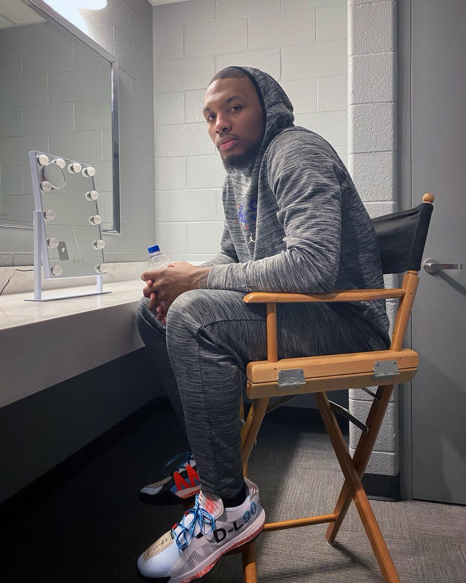 We're hanging out with @NBA point-guard @Dame_Lillard (aka Dame D.O.L.L.A. 🎤) at #NBAAllStar weekend. Check out our story to follow Dame's adventures.