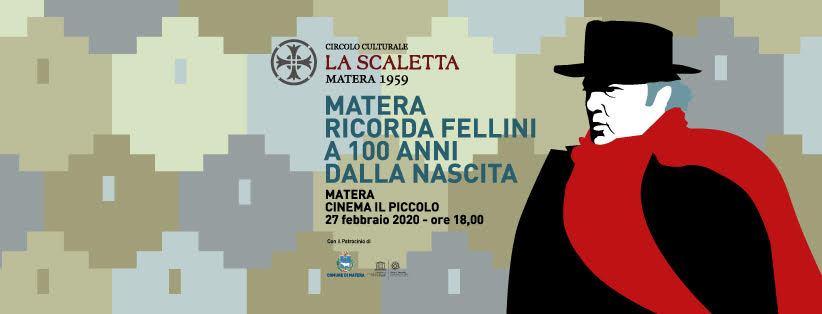 Matera ricorda Fellini a 100 anni dallanascita h...
