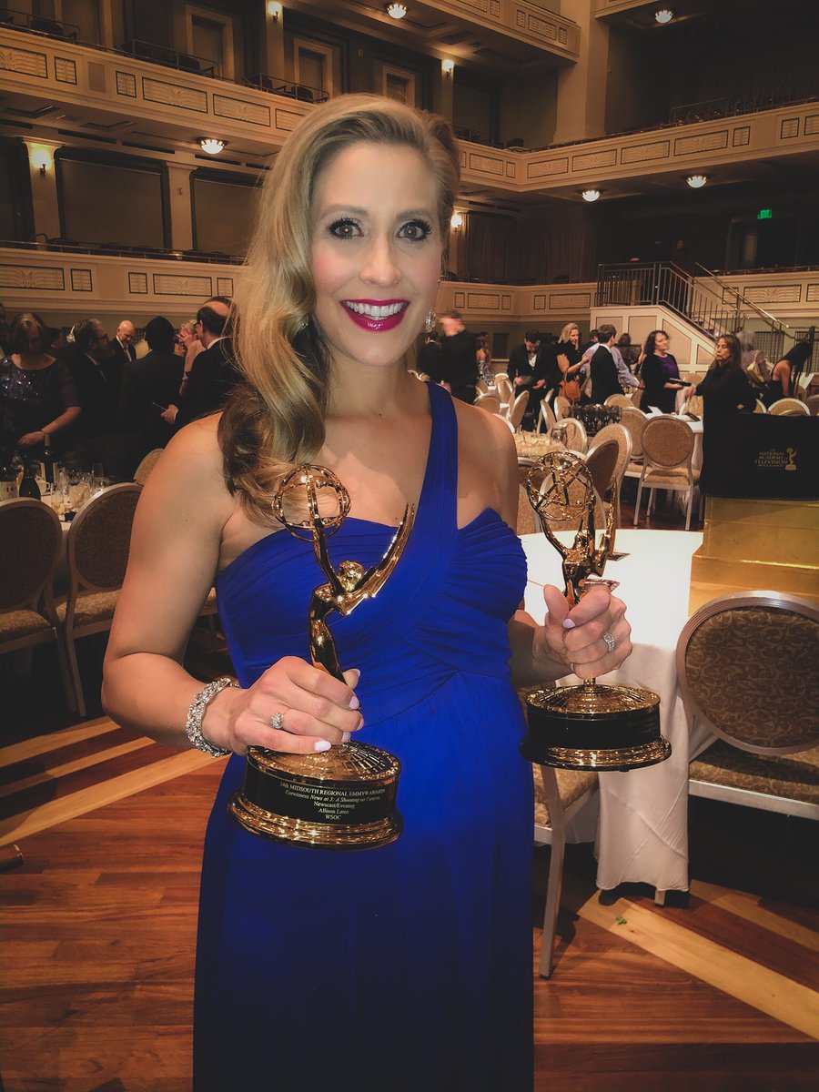 So honored to win 2 #Emmys and I'm incredibly proud of the @wsoctv  team! I work with some very talented people!  #tv #news #journalism #media #news #clt #charlottepic.twitter.com/Iy1PKaKGZk