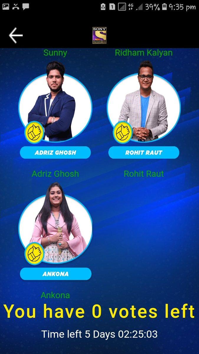 #Ek_desh_ek_awaaz_sunny_hindustaniईश्वर आपको कामयाब करें।Sunny hindustani ji 100 votes only for u done😎😍😘👍#SunnyHindustani #IndianIdol11 @iAmNehaKakkar @VishalDadlani #HimeshReshammiya #AdityaNarayan @sunny_singer11 @geetakapur @terencehere@SonyTV