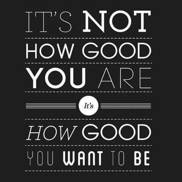it's not how good you are it how good you want to be. #loa #spiritual #thesecret #universe #abundance #gratitude #awakening #energy #positivity #positivevibes #goodvibes #lawofattractionpic.twitter.com/Vww0or0bgO