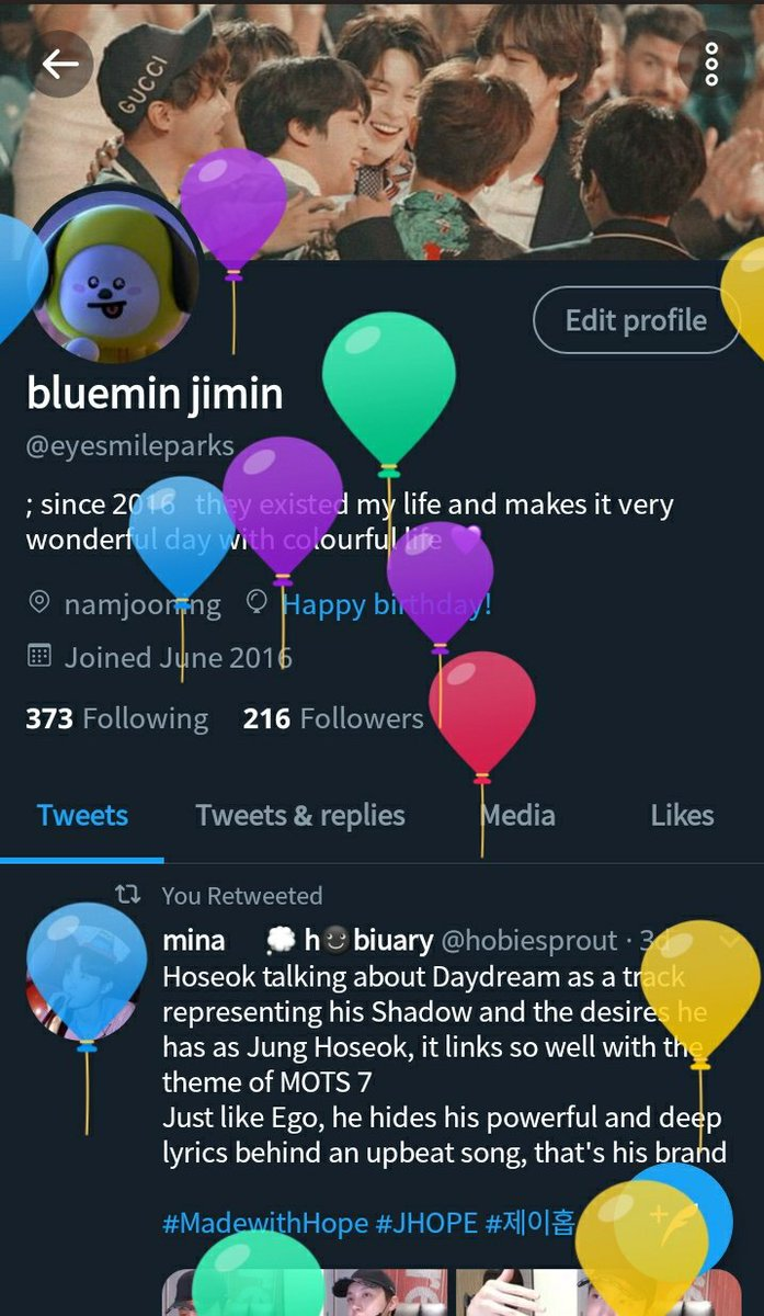It's my birthday 😭💙#birthday #bts #armyday #armybirthday #btsarmybirthday @BTS_twt