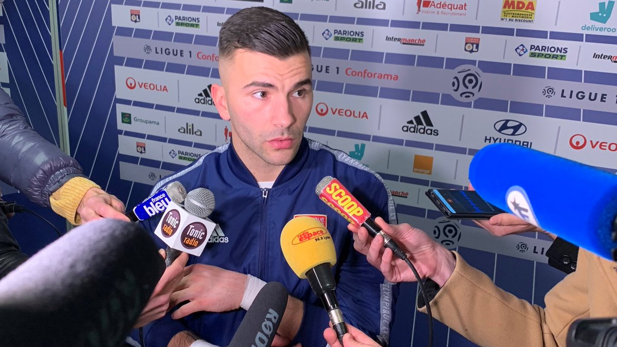 """🗣️ Anthony Lopes: """"What we're doing is not enough. We did the hardest part by opening the scoring, but we let them back into it. We must create more opportunities and kill off games. We need to do much better to climb the table.""""  #OLRCSA"""