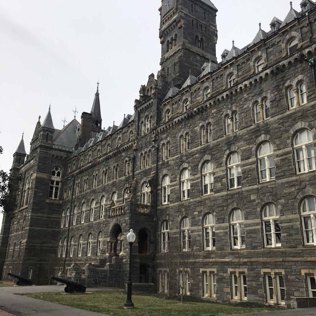 Georgetown University #washuntington