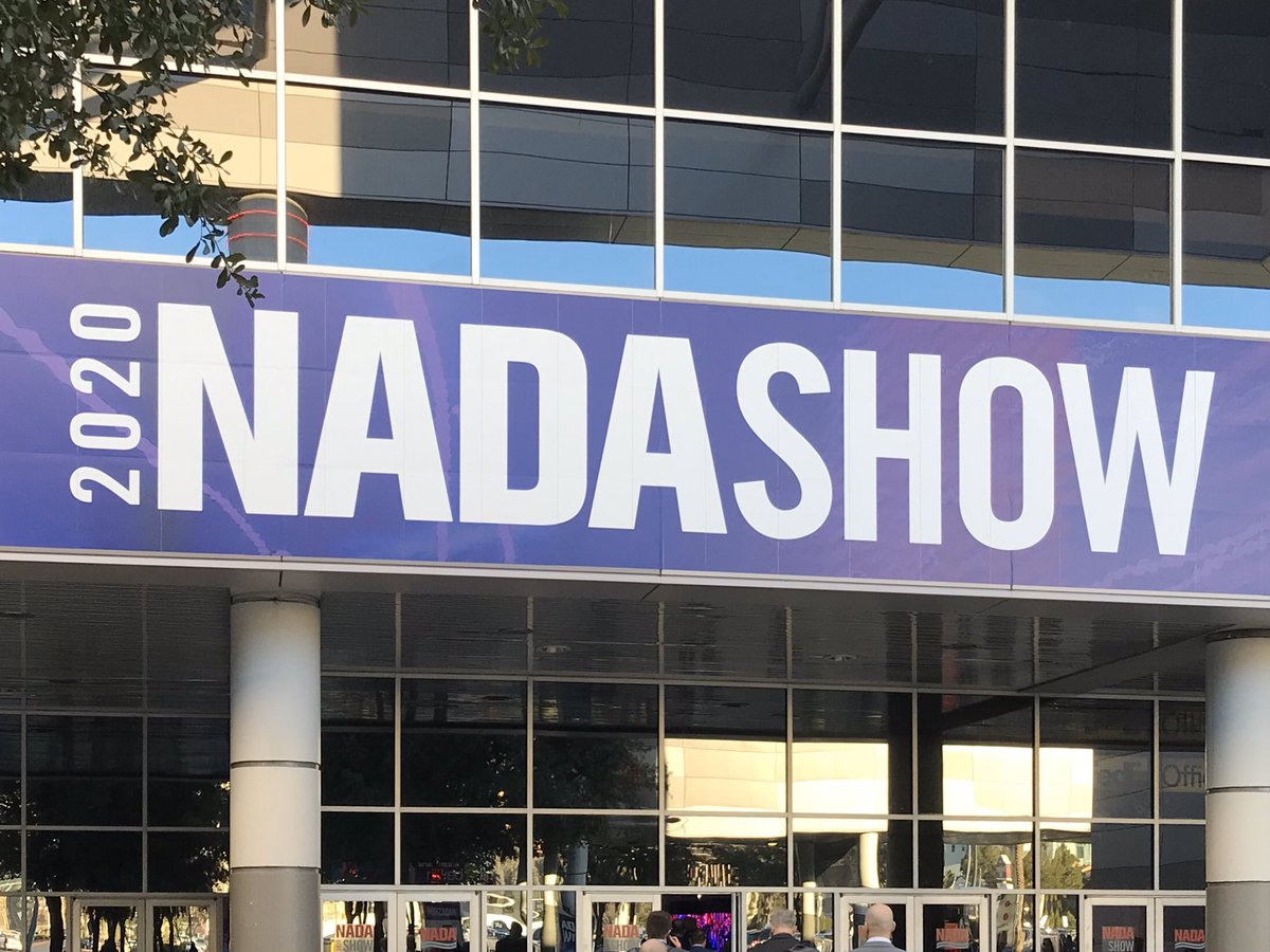 Day 2 of #NADASHOW. We're ready to help dealers track inventory and increase PVR with #InTouch GPS Solutions. Find us in booth 6009N. pic.twitter.com/rucbkN3ipy