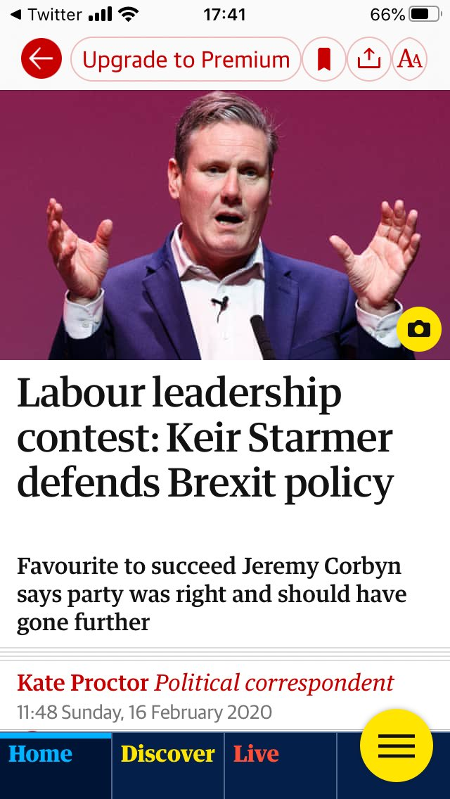 What bit of it was a referendum and remain lost, is it that Sir Keir Starmer doesn't understand?