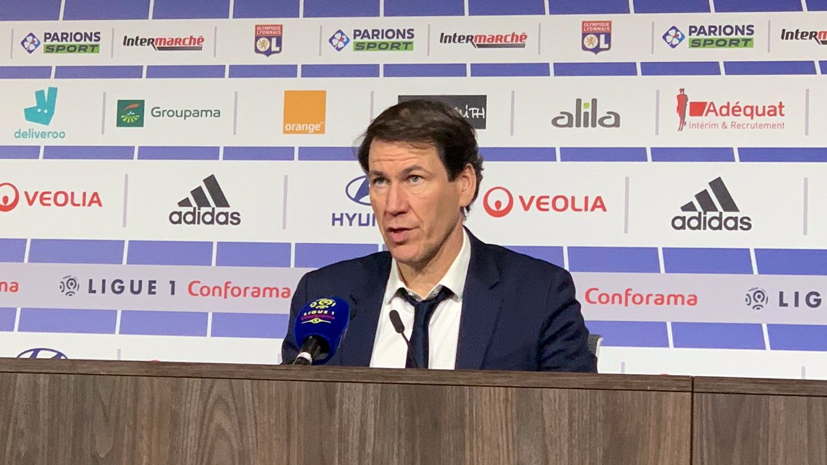 """🗣️ @RudiGarcia: """"We didn't show enough on the pitch. We need to make more chances and score more goals. I think we did the hard part when we opened the scoring. We also have to be a lot better technically to cause problems for our opponents.""""  #OLRCSA"""