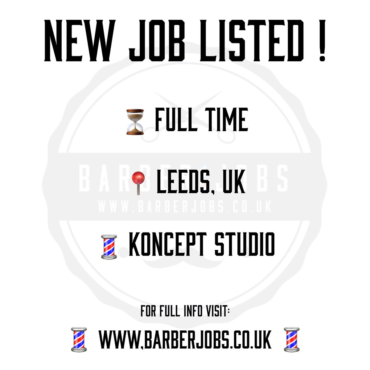 http://www.barberjobs.co.uk #barber #barbershop #barberlife #barbershopconnect #haircut #fade #barbers #hair #barbering #hairstyle #barberlove #wahl #beard #menshair #andis #barberworld #style #thebarberpost #fashion #barbernation #bhfyp #barberjobs #barberjob #cutthroat #razorpic.twitter.com/orRL8zyhSl