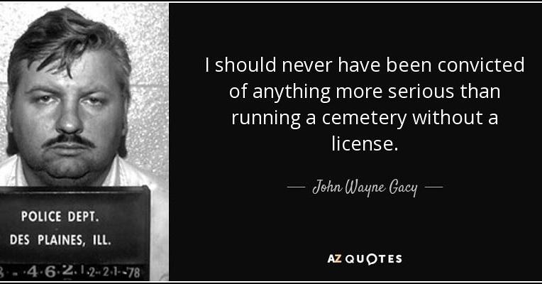 John Wayne Gacy #johnwaynegacy #famousserialkillerquote #famous #realhorror #realmonsters #reallifemonsters #killer #killerclown #childkiller #serialkiller #sociopath #sociopathawareness #psychopathpic.twitter.com/kYgHFW4yuB