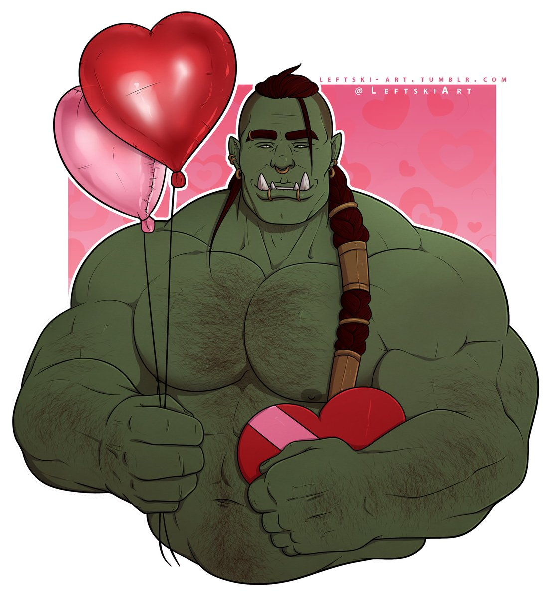 This Valentine's orc is really sorry he's late :( Will you still accept his love? #ValentinesDay2020 <br>http://pic.twitter.com/QzGwfQBqU6