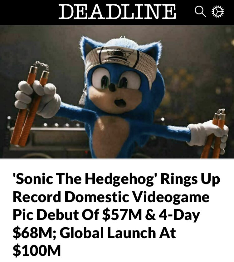 Sonic The Hedgehog Movie In Works Page 49 Tfw2005 The 2005 Boards