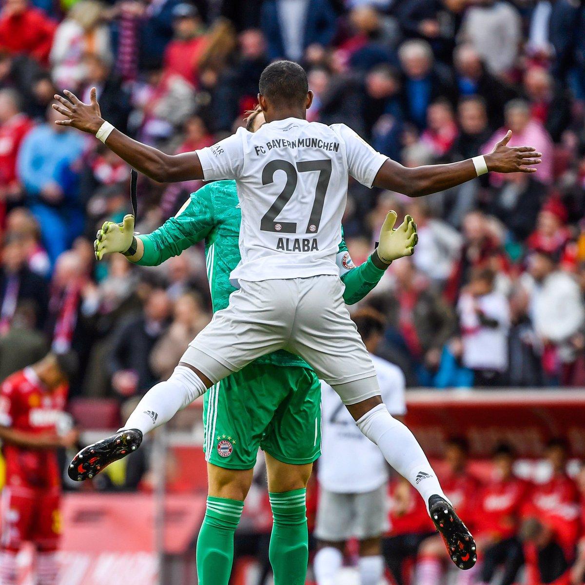 Next step. 🙌🏾 #KOEFCB @FCBayern