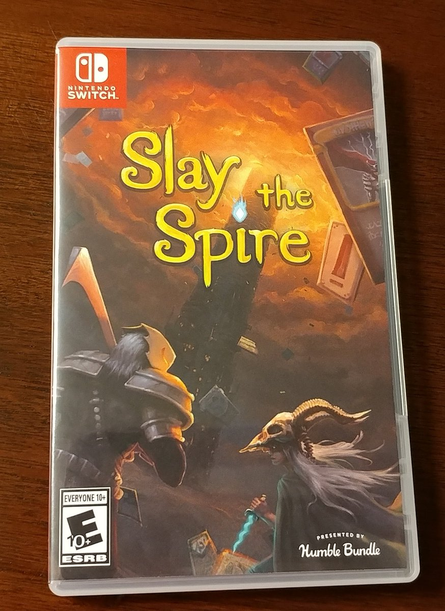 "My current video game obsession is ""Slay the Spire"" on the #NintendoSwitch. Combines the elements of deck building card games I enjoy with a Rogue-like video game... Very cool. pic.twitter.com/XVolqdqAjy"