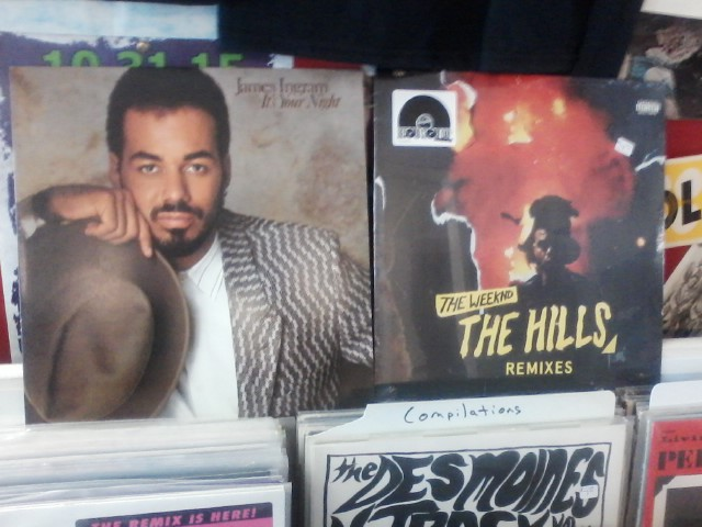 Happy Birthday to the late James Ingram & The Weekend