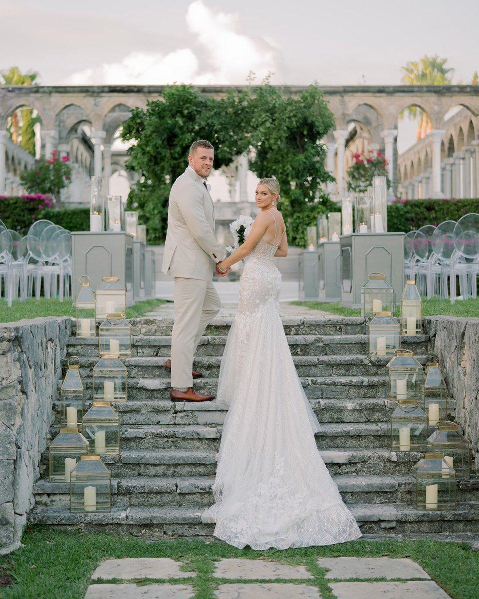 Texans' J.J. Watt marries Chicago Red Stars' Kealia Ohai